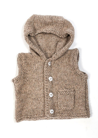 Stocking Gilet in TOFT Aran - Digital Version