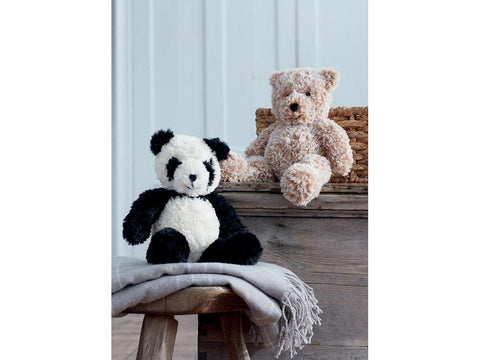 Panda and Teddy Bear in Sirdar Alpine (2495)