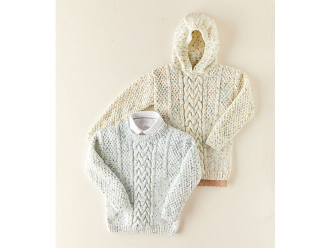 Sweaters Knitting Kit and Pattern in Sirdar Yarn (2524)