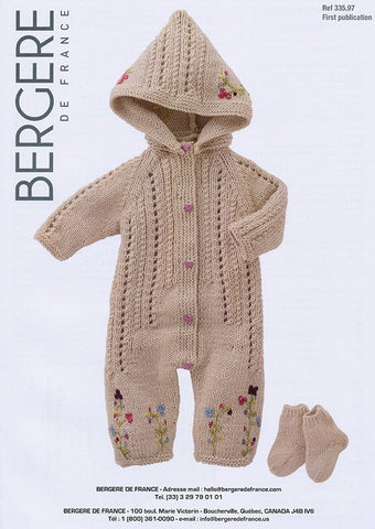 Sleepsuit & Socks In Bergere de France Magic+ (335.97)