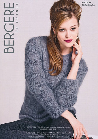 Round Neck Sweater in Bergere de France Pur Doucer (339.55)
