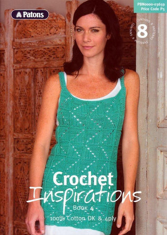 Crochet Inspirations Book 4 by Patons (3659)