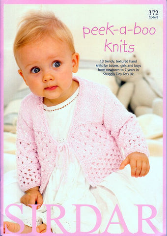 Peek-a-Boo Knits by Sirdar (372B)