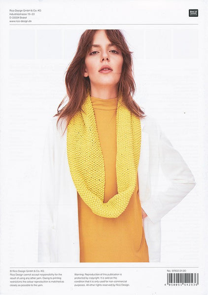 Sweater and Loop Scarf in Rico Design Fashion Jersey (402)
