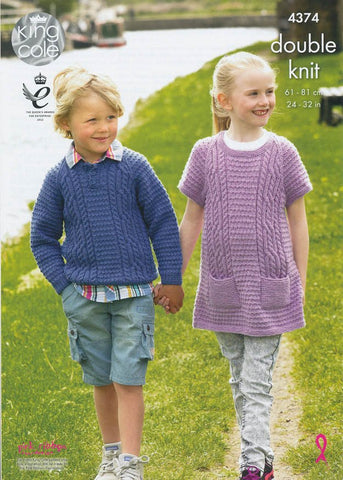 Sweater and Tunic in King Cole DK (4374)