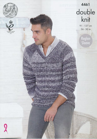Mens Sweaters in King Cole Vogue DK (4461)