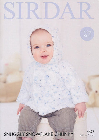 Boy's Jacket in Sirdar Snuggly Snowflake Chunky (4697)