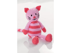 Tiddles The Toy Cat by Jenny Watson in Deramores Studio Baby DK (5001)