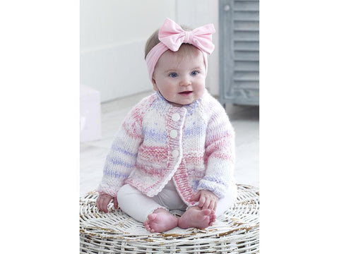 Cardigans, Hat and Blanket in King Cole Comfort Cheeky Chunky (5213K)