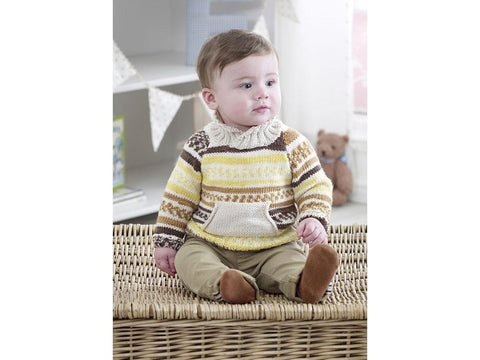 Sweaters, Jacket and Hat in King Cole DK (5220K)
