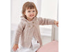 Babies Duffle Coat in Sirdar Snuggly Heirloom (5322)