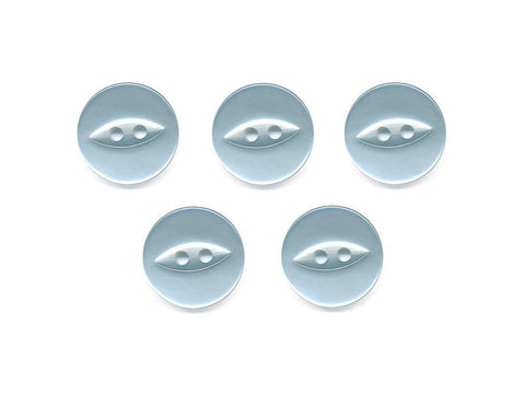 Fish-Eye Buttons - Blue - 067