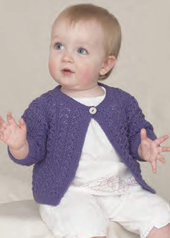 The Sixth Sublime Baby 4 Ply Hand Knit Book (693)