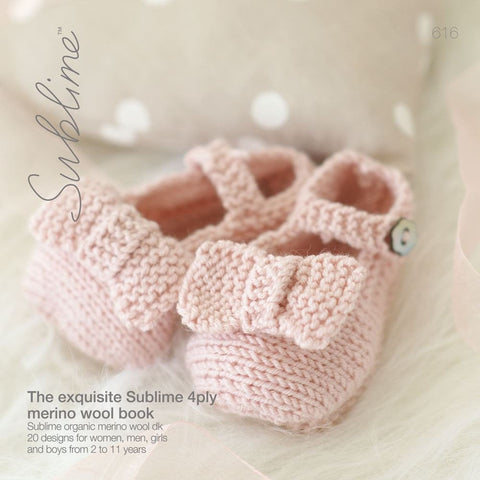 The Irresistibly Sublime Baby 4 Ply Book (616)