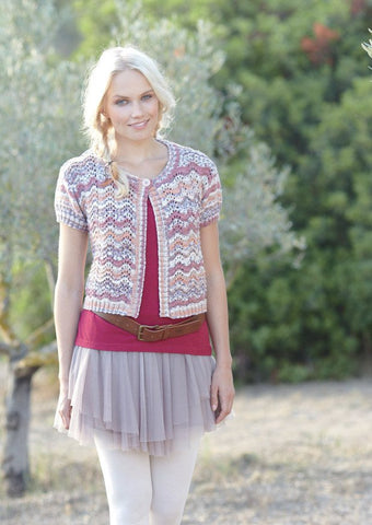 Womens and Girls Cardigans in Sirdar Crofter DK (7230) - Digital Version