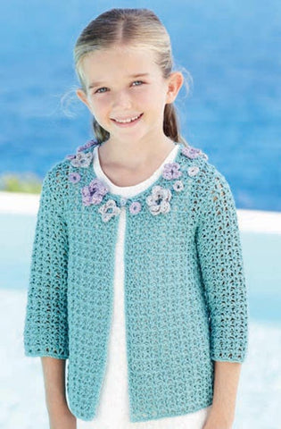 Womens and Girls Jackets and Womens Vest Top in Sirdar Cotton DK (7238) - Digital Version