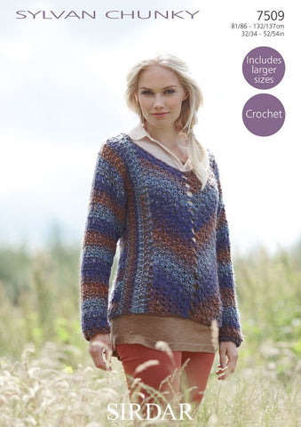 Sweater in Sirdar Sylvan Chunky (7509)