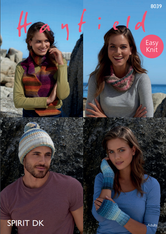 Accessories in Hayfield Spirit DK (8039)