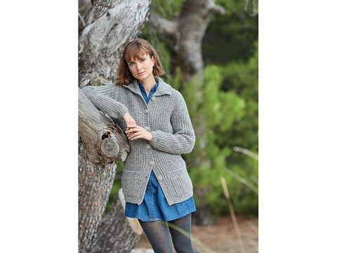 Cardigans in Hayfield Bonus Aran Tweed & Bonus Aran