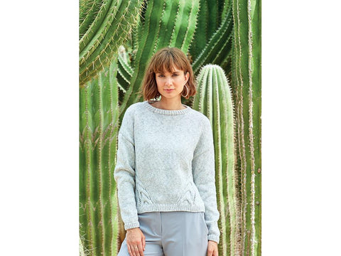 Sweater in Sirdar No.1 Aran Stonewashed (8268)