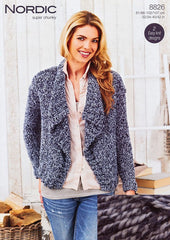 Stylecraft Nordic Super Chunky Cardigan Pack – Fjord