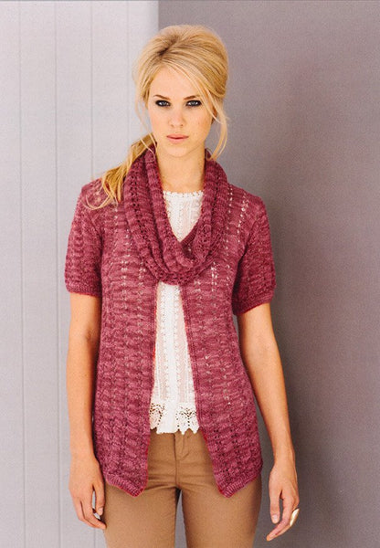 Cardigans and Snoods in Stylecraft Senses (8831)