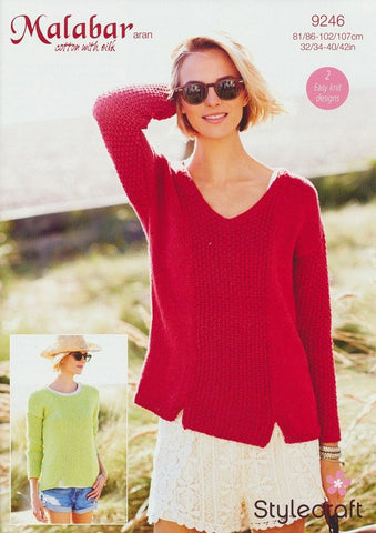 Sweaters in Stylecraft Malabar Aran (9246)