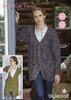 Cardigan and Waistcoat in Swift Knit Tweed (9333)