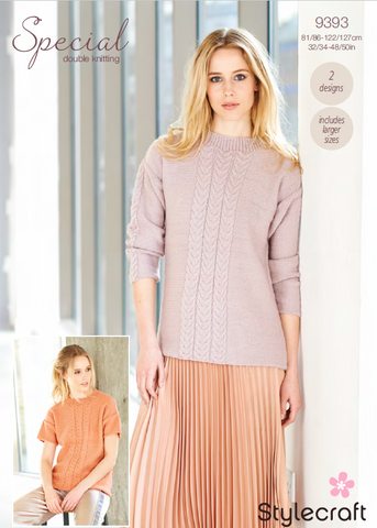 Sweater and Top in Special DK (9393)