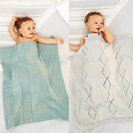 Babies Blanket in Stylecraft Bambino Yarn & Pattern (9531)