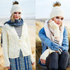 Ladies Cardigan, Hat & Mitts Kit in Stylecraft Special Aran with Wool (9557)