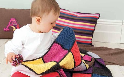 Baby Cushions and Blankets in Rico Baby Cotton Soft DK (171) - Digital Version