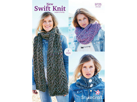 Accessories in Stylecraft New Swift Knit Super Chunky (9725)