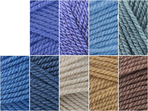 Stylecraft Special Dk Baby Boy Large Colour Pack With A Choice Of