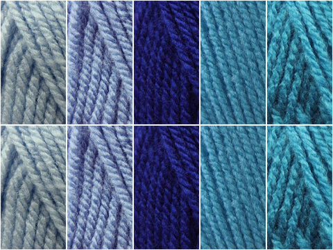 English Bluebells Colour Pack in Hayfield Bonus DK