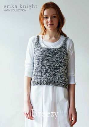 Breezy in Gossypium Cotton by Erika Knight