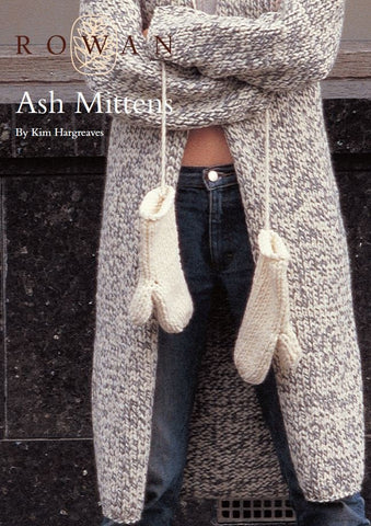 Ash Mittens by Kim Hargreaves Digital Version