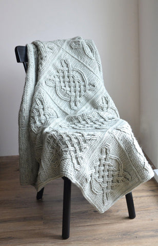 Celtic Tiles Blanket Pack in Scheepjes Stonewashed XL by Tatsiana