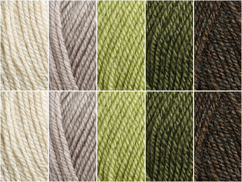 Woodland Colour Pack in Cygnet DK