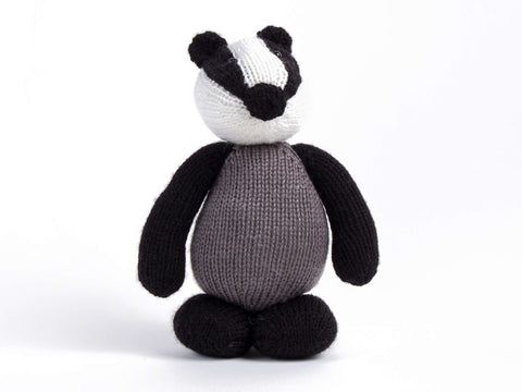 Deramores Woodland Creatures - Barry the Badger - Digital Version