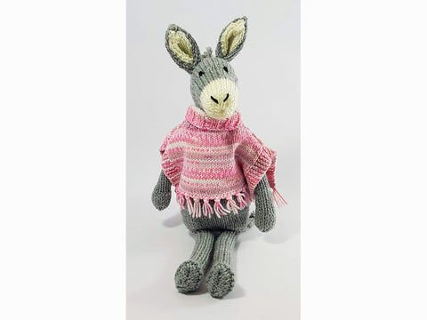 Nell The Donkey by Sardines For Tea in Stylecraft Special Aran and Sirdar Crofter DK