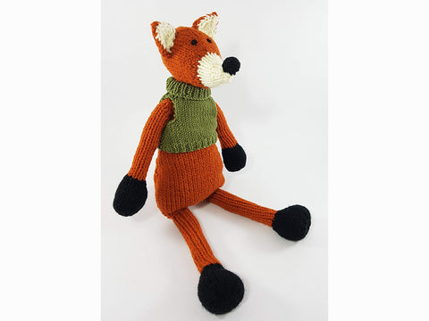 Ronnie The Fox by Sardines For Tea in Stylecraft Special Aran and Rico Design Creative Ricorumi DK