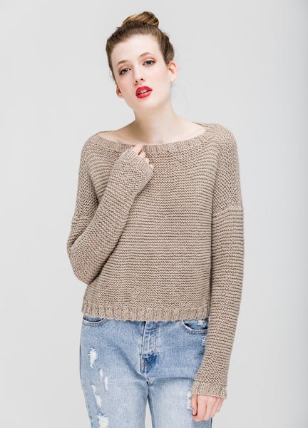 Cuzco Sweater by We Are Knitters - Grey