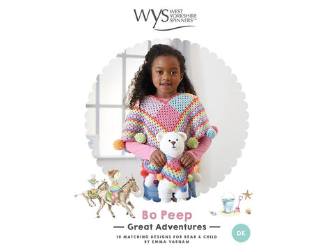 West Yorkshire Spinners Bo Peep Great Adventures (Crochet Bear)