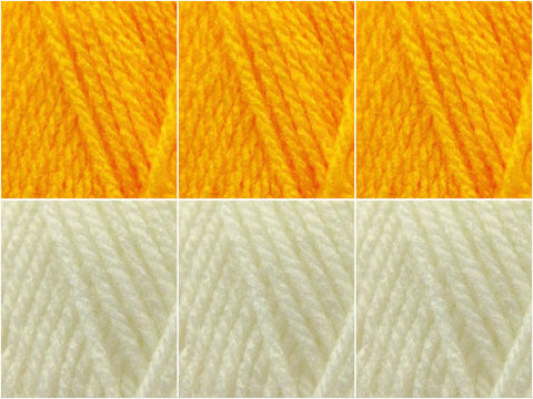 Sunshine Colour Pack in Hayfield Bonus DK