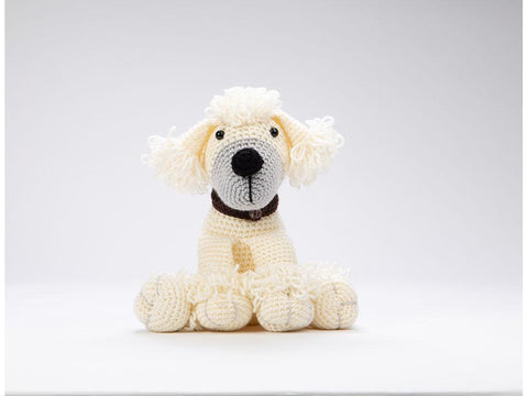 Poppy the Poodle - Amigurumi Dera-Dogs by Heather Gibbs in Deramores Studio DK