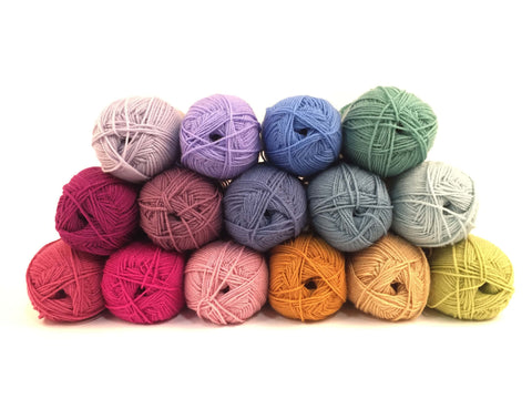Stylecraft Special DK Soft Rainbow Colour Pack (with a choice of Free Pattern)