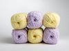 James C. Brett Innocence Bamboo Rich DK Pansy Colour Pack