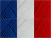Flag of France Colour Pack in James C. Brett Top Value DK