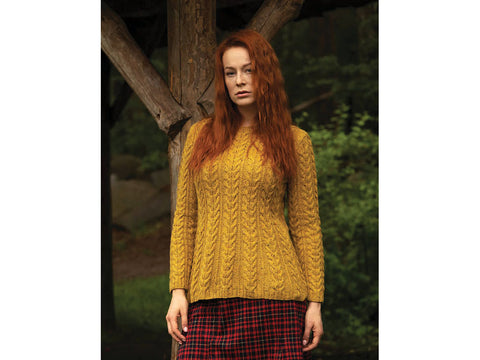 Arran Sweater in Jody Long ALBA (16529)